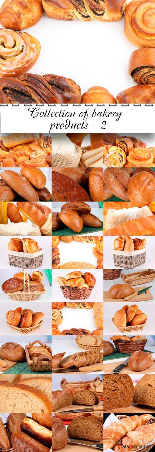 Collection of bakery products - 2