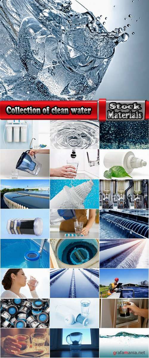 Collection of clean water water purification water filter treatment plants 25 HQ Jpeg