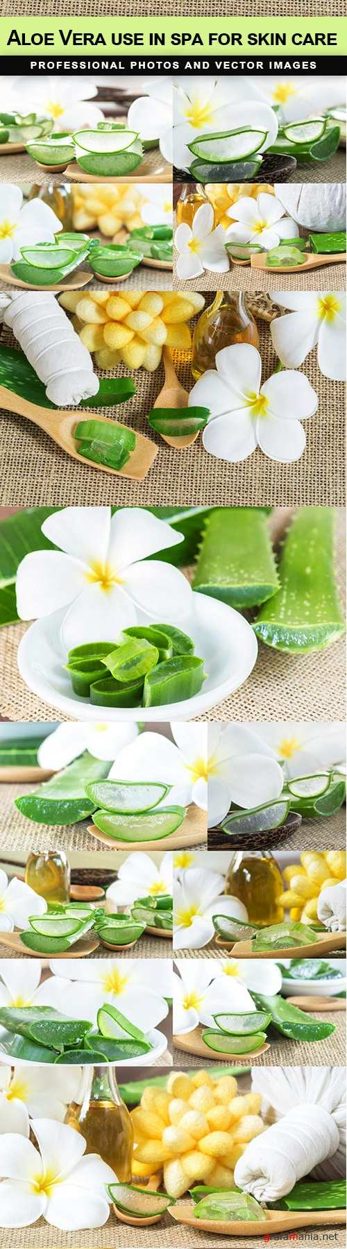 Aloe Vera use in spa for skin care - 14 UHQ JPEG
