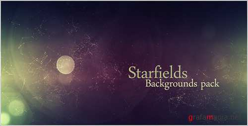 Starfields Backgrounds Pack - Motion Graphics (Videohive)