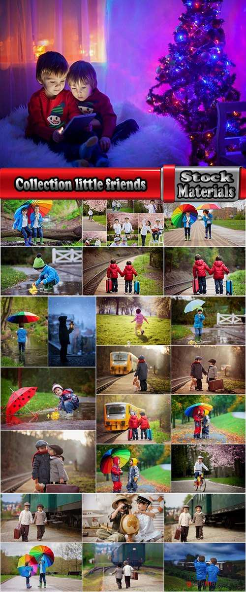 Collection of child tourists travel little friends 25 HQ Jpeg
