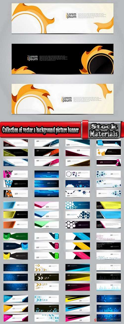 Collection of vector a background picture flyer poster banner emblem logo 25 EPS