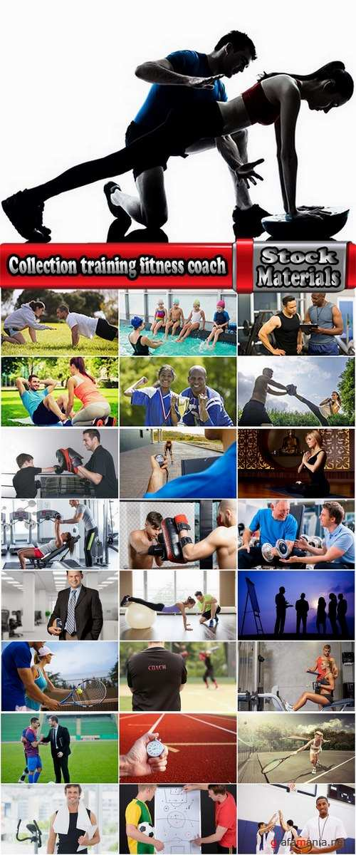 Collection training fitness coach sports various sports 25 HQ Jpeg