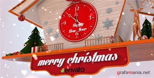 Christmas Cuckoo Clock - After Effects Project (Videohive)