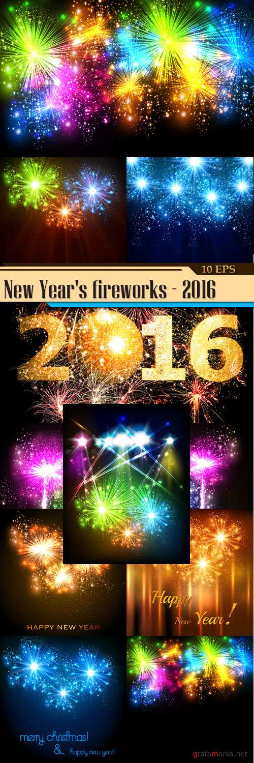 New Year's fireworks - 2016