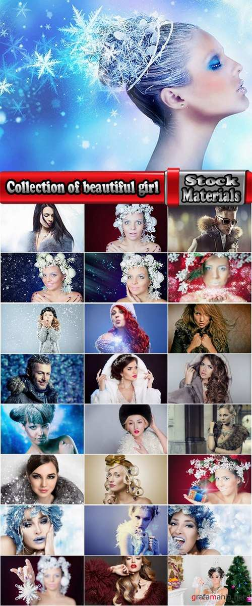 Collection of beautiful girl in warm clothes man winter winter cold hairstyle 25 HQ Jpeg