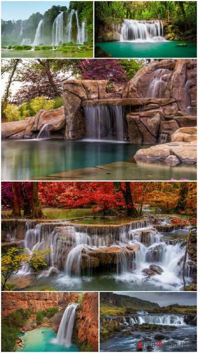 Waterfalls wallpapers (Big Pack 5)