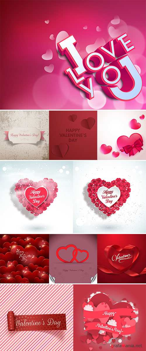 Stock Valentine day love beautiful vector