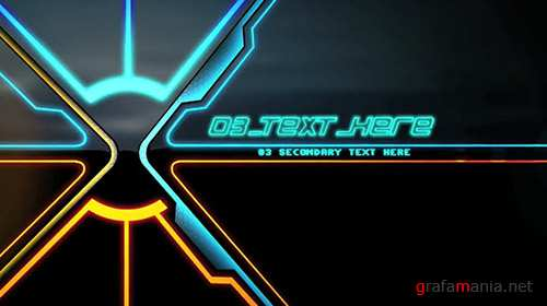 Tron Ignition - After Effects Template (BlueFX)