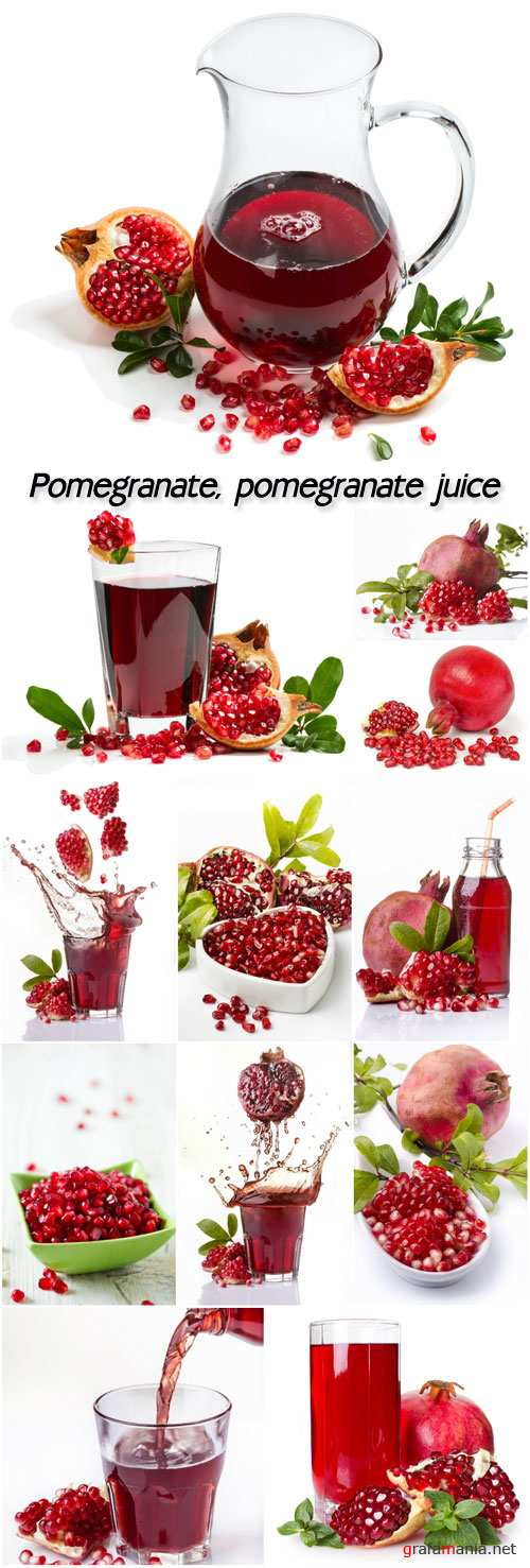Pomegranate, pomegranate juice