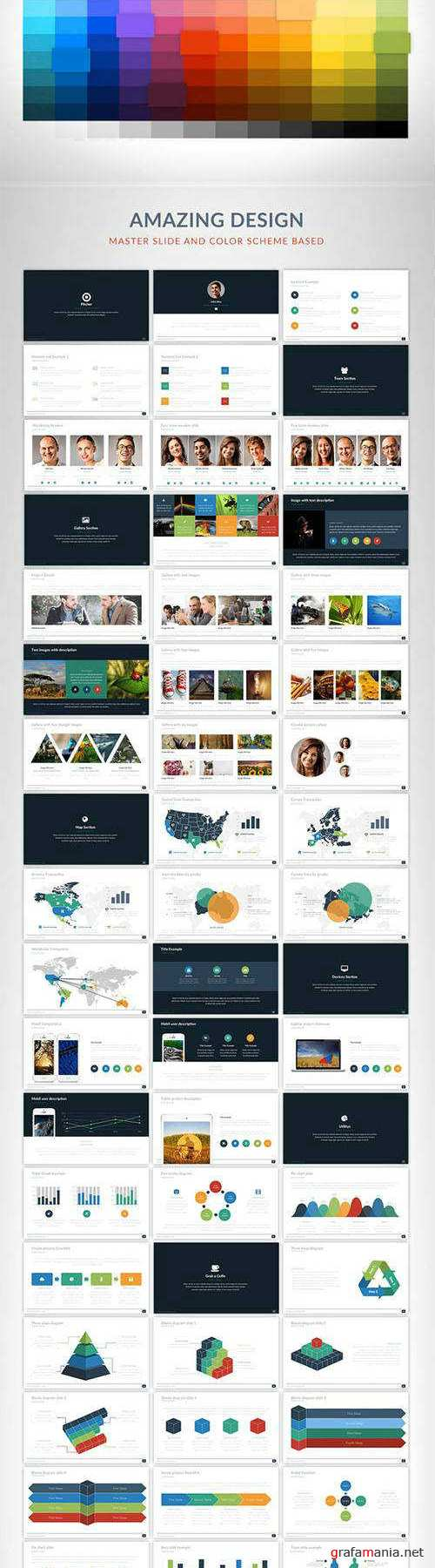 Pitcher Powerpoint template 489507