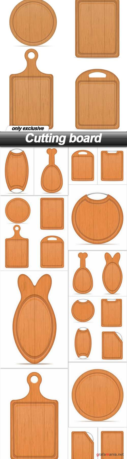 Cutting board - 13 EPS