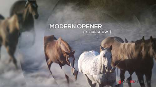 Modern Opener - Slideshow - Project for After Effects (Videohive)