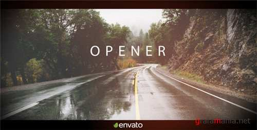 Simple Clean Opener - After Effects Project (Videohive)