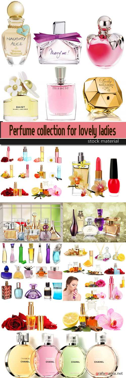 Perfume collection for lovely ladies