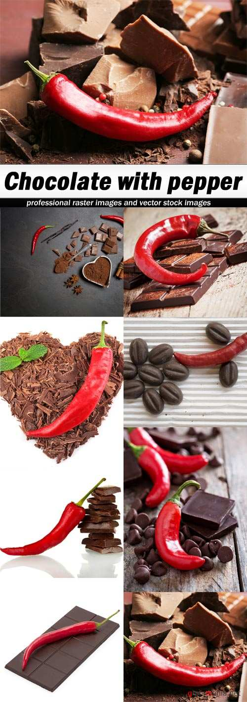 Chocolate with pepper