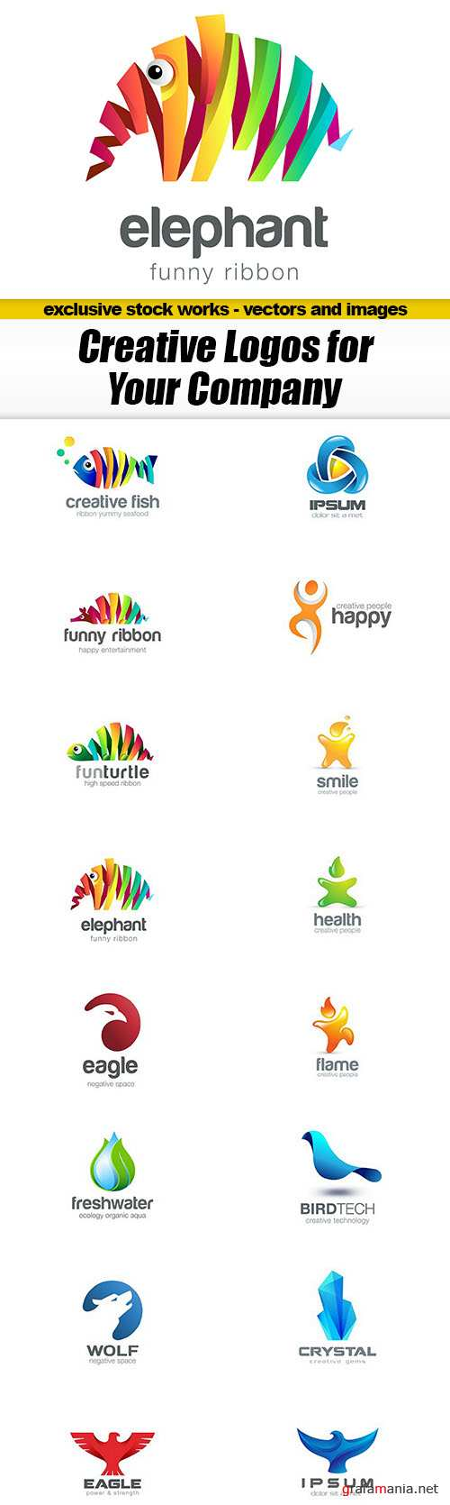Creative Logos for Your Company - 16xEPS