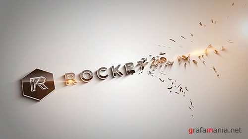Alluvion - Stylish 3D Logo Reveal - After Effects Template (RocketStock)