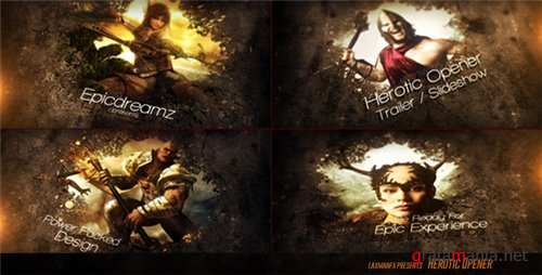 Heroic Opener - After Effects Project (Videohive)