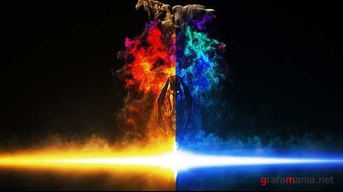 Dragon Fire Logo Reveal - After Effects Project (Videohive)