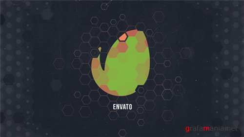 Hexagon Geometric Logo - After Effects Project (Videohive)