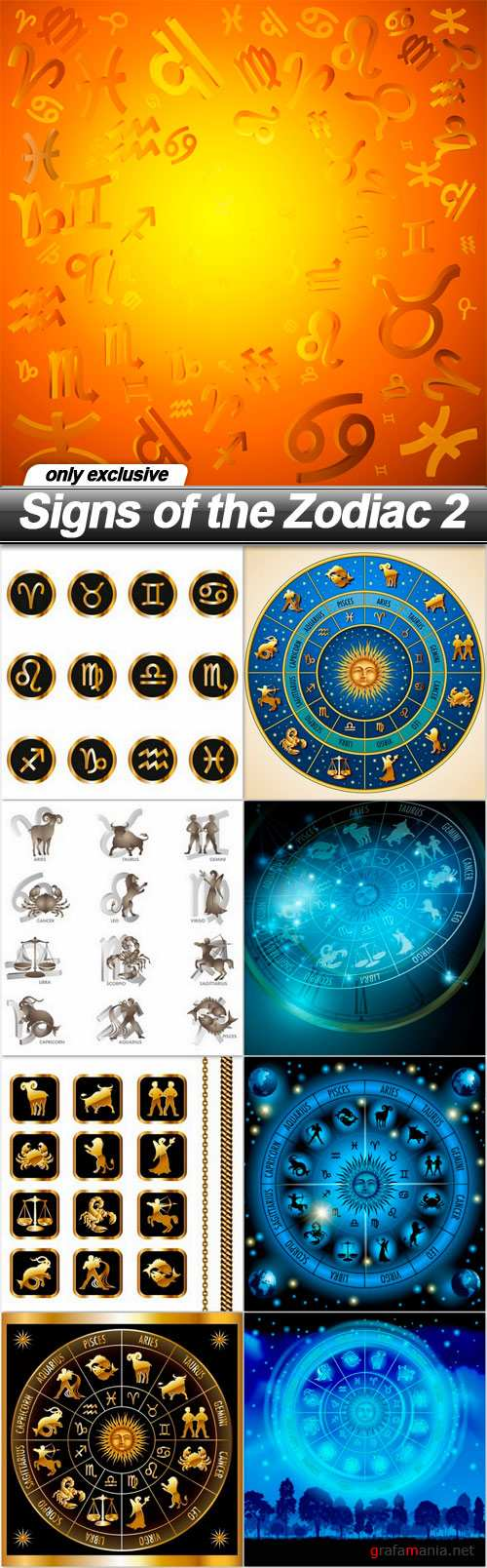 Signs of the Zodiac 2 - 9 EPS