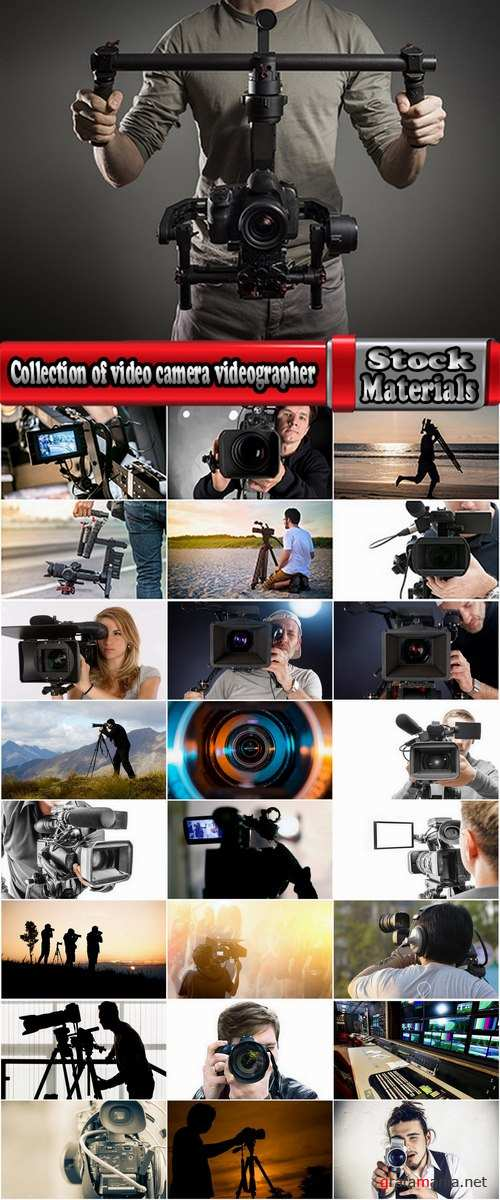 Collection of video camera videographer report 25 HQ Jpeg