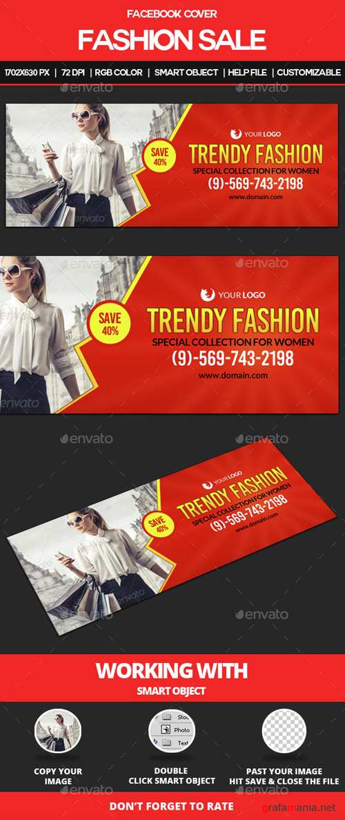Fashion Sale Facebook Cover 14746050