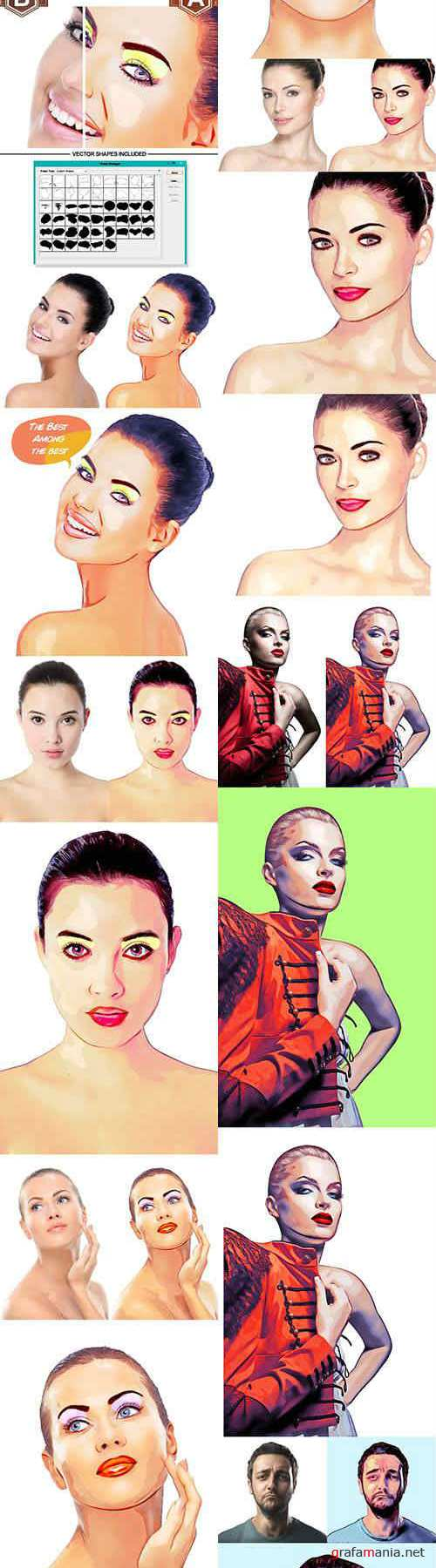 Advance Pop Art Kit 2 10248516 (Graphicriver)