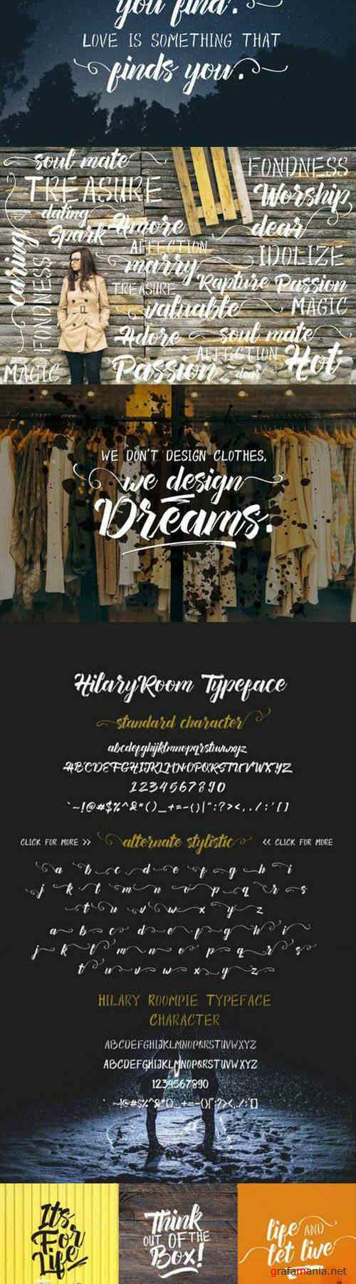 Hilary Room - Typeface Duo