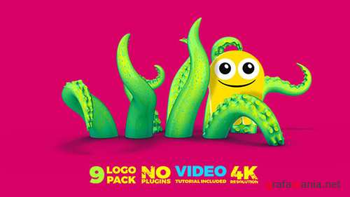 9 Logo Pack - Project for After Effects (Videohive)