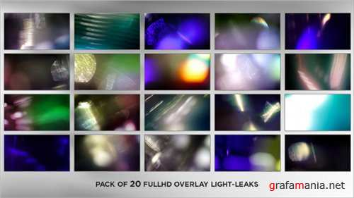 Real Elegance Light Leaks (20-Pack) - After Effects Motion Graphics (Videohive)