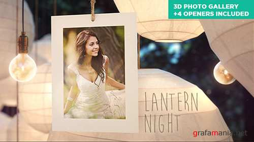 Lantern Night - Wedding Photo Gallery - Project for After Effects (Videohive)