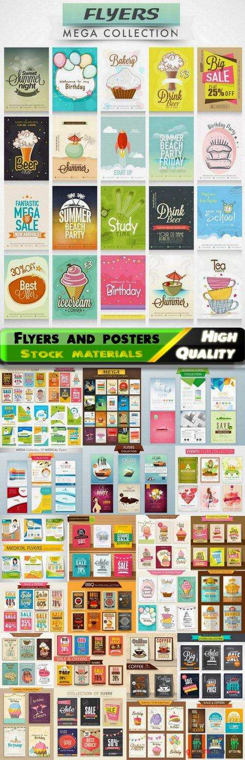 Flyers for business company and for sale - 25 Eps