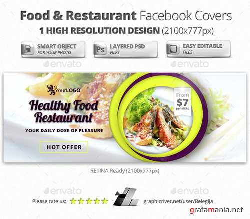 Food & Restaurant Facebook Covers 15104234