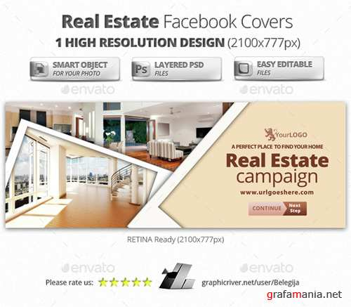 Real Estate Facebook Covers 14992242