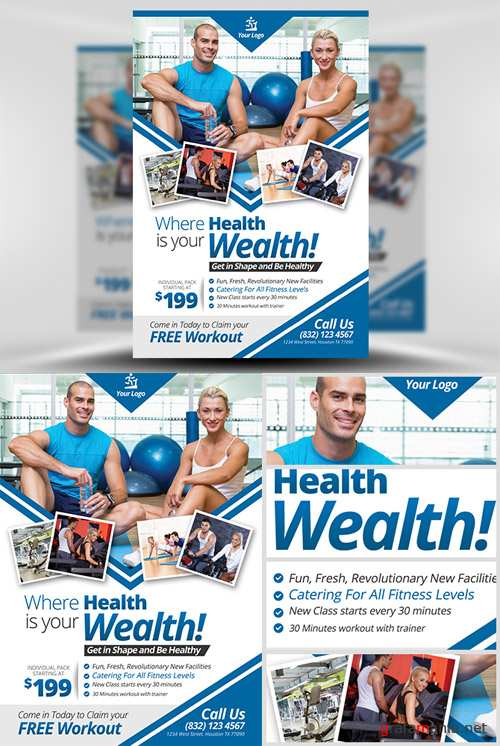 Flyer Template - Fitness