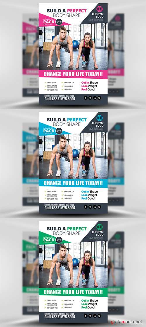 Flyer Template - Gym 2