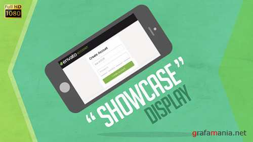 Showcase Device Display - Project for After Effects (Videohive)