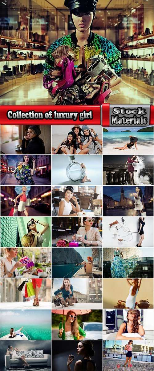 Collection of luxury girl woman makes a purchase beautiful clothes 25 HQ Jpeg