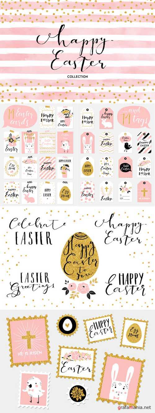 Happy Easter collection - 589320