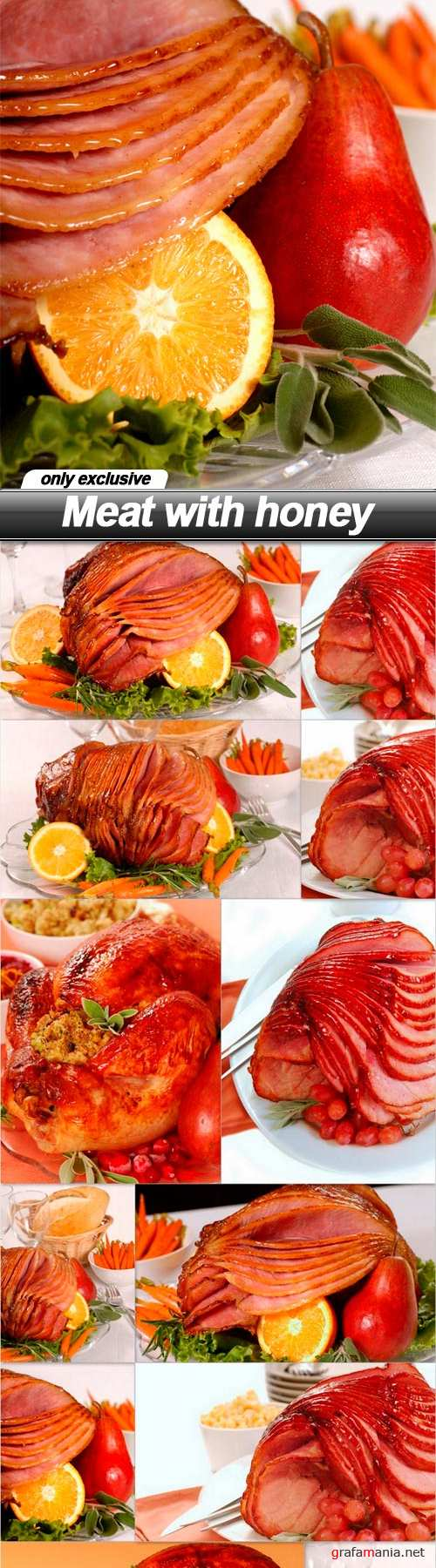 Meat with honey - 12 UHQ JPEG