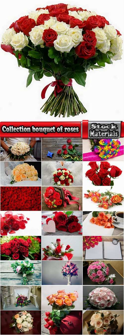 Collection bouquet of roses wedding bouquet a rose 25 HQ Jpeg