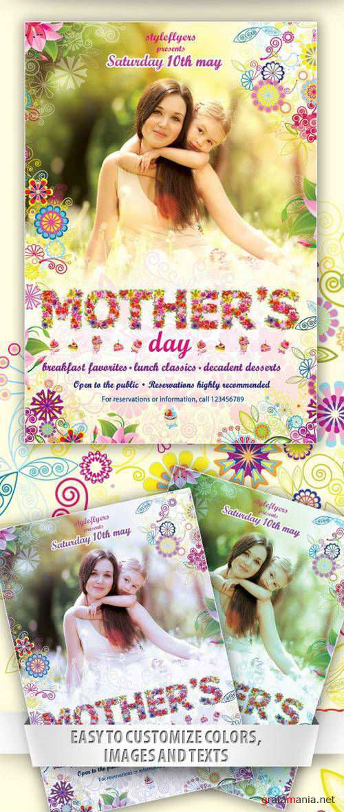 Flyer Template - Mothers' Day