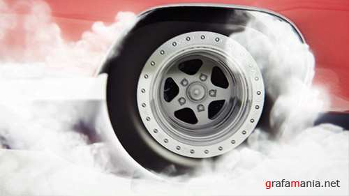Car Burnout - Project for After Effects (Videohive)