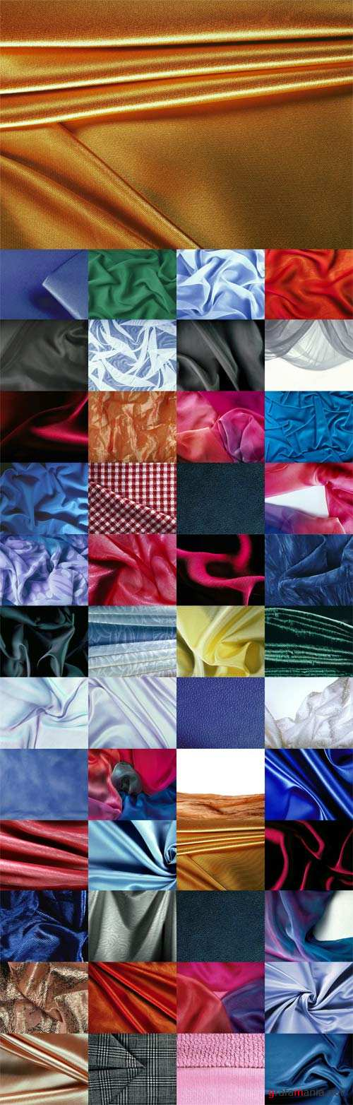 Colored fabric texture