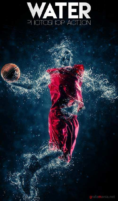 GraphicRiver Water Photoshop Action