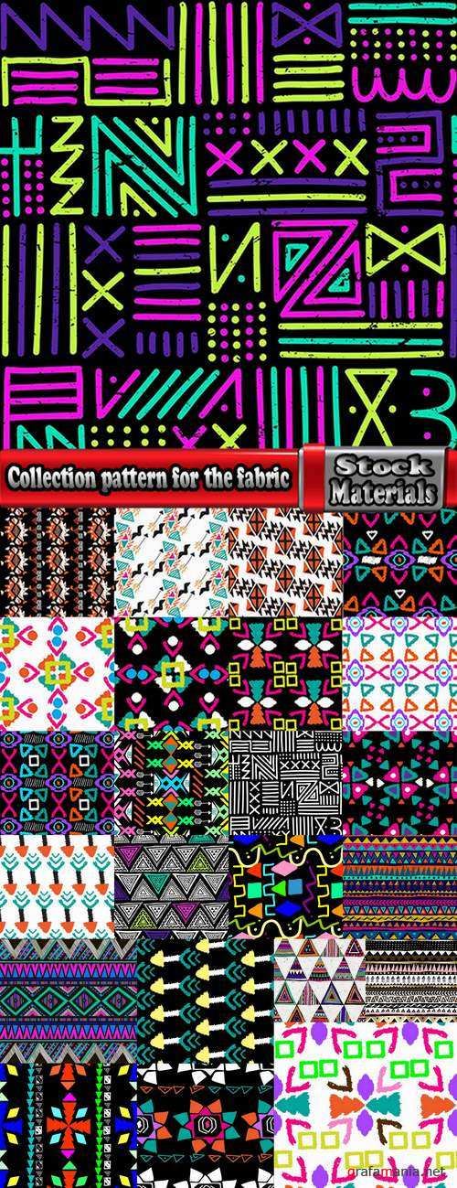 Collection pattern for the fabric background is Navajo 24 EPS
