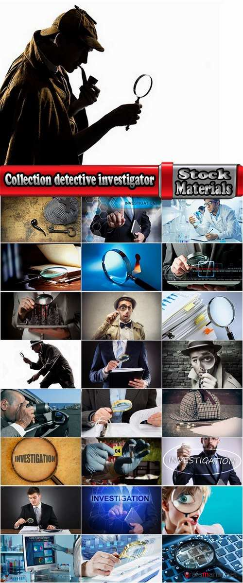 Collection detective investigator investigation detective quest to solve crimes 25 HQ Jpeg