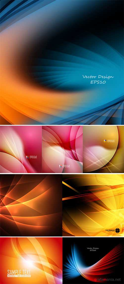 Stock Abstract bright vector background with copy space